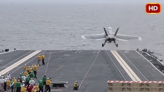 US Navy Launches First Jet with Electromagnetic Catapult