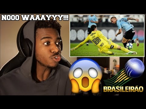 TOP 30 BEAUTIFUL GOALS SCORED ACROSS ALL BRAZILIAN COMPETITIONS 2018  Reaction