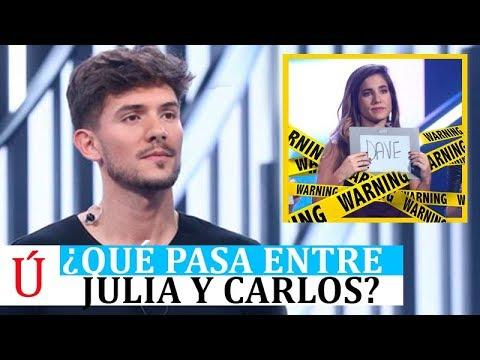 ¿Qué ha pasado entre Julia y Carlos Right tras la Gala 4 de Operación Triunfo 2018?
