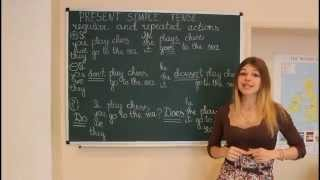 Урок №1 Настоящее простое время в английском языке.