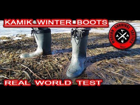 Kamik Winter Hunter Boots / REAL WORLD TEST