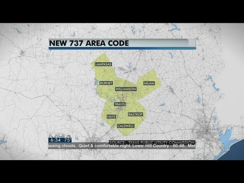 New 737 area code starting Monday