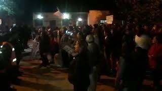 Video: Escrache de vecinos de El Talar a Gerardo Morales