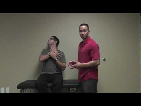 Stretches: Deep Front Neck (Scalenes)