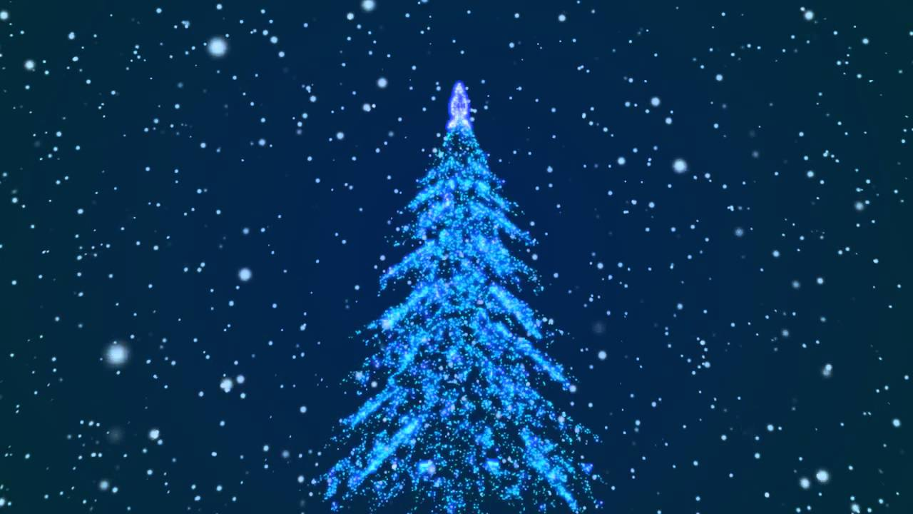Free 3d Snow Falling Wallpaper Free Christmas New Year 2014 Tree 3d Background Loop Hd