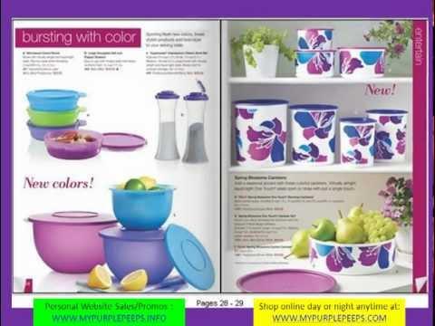 USA Tupperware Summer 2012 Catalog