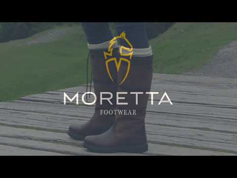 Moretta Teo Long Leather Country Boots