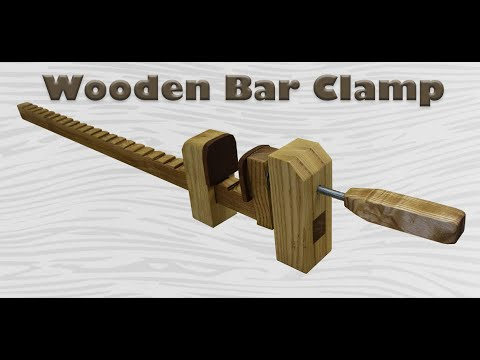 Making Some Wooden Bar Clamps