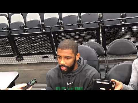 Boston Celtics star Kyrie Irving shows respect for San Antonio Spurs