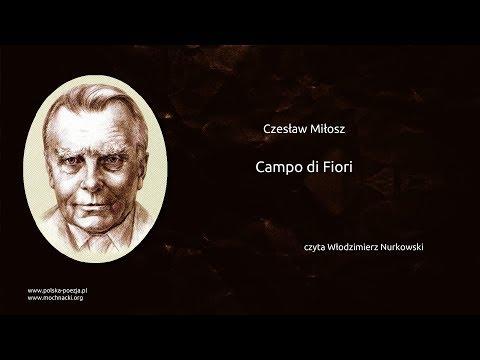Czesław Miłosz - Campo di Fiori