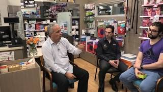 N. Lygeros: Introduction to human pharmacy. Bell Street Pharmacy, Melbourne, 14/09/2019