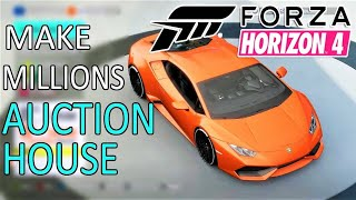 MAKE QUICK AND EASY MONEY IN FORZA HORIZON 4! 10 BEST CARS TO BUY & SEL