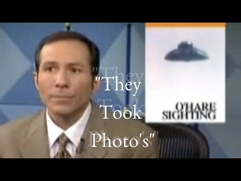 Flashback: O'Hare UFO News coverage (Actual Pictures Included!)