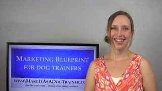 Dog Training Business Marketing - Business Card Strategies For Dog Trainers