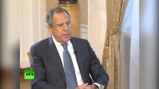 Лавров: РФ не считает НАТО врагом, но видит угрозу в продвижении блока на Восток