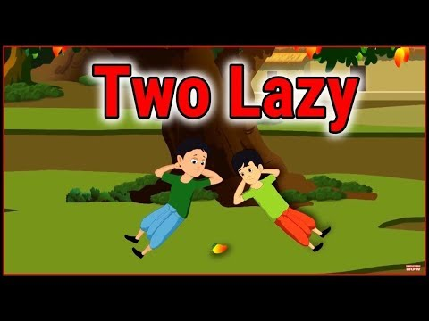 Lazy People | Cartoon In English For Kids | Moral Stories | Maha Cartoon TV English