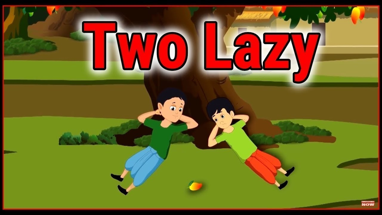 Two Lazy | Cartoon In English For Kids | Moral Stories | Maha Cartoon TV English
