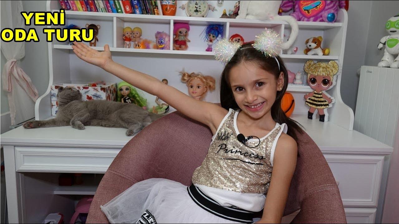 LİNA'NIN ODA TURU FUNNY KIDS VİDEO
