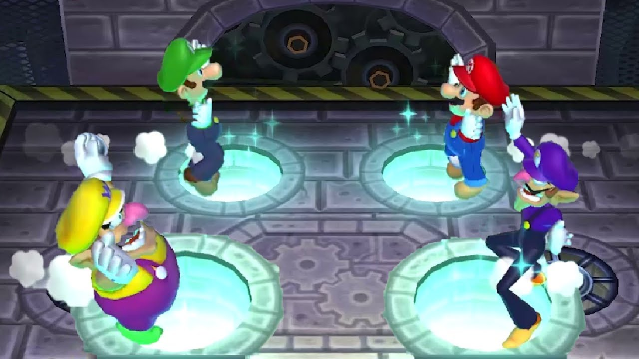 Mario Party Series - Luigi Wins By Beating Everyone Up