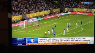Italia - Giappone 4-3 Confederations Cup 2013 (20-06-13) Seconda Giornata