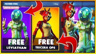 "New FREE ""LEVIATHAN SKIN in Fortnite Battle Royale // How to get the LEVIATHAN for FREE in Fortnite"