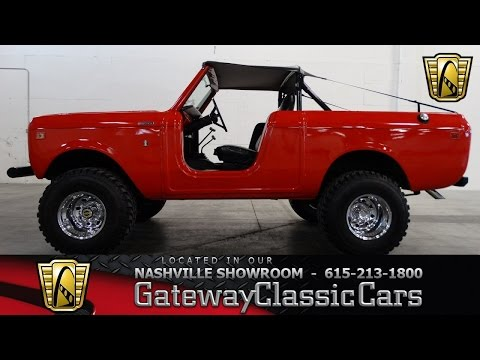 1978 International Harvester Scout II - Gateway Classic Cars of Nashville #15