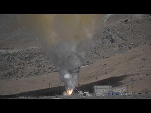 NASA Orion spacecraft rocket test