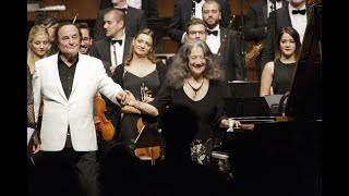 EPOS together with Charles Dutoit and Martha Argerich at Festival Septembre Musical in Montreux 2018