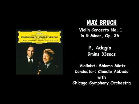 MAX BRUCH - Violin Concerto No, 1 in G Minor. Op. 26. - SHLO