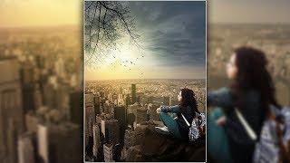 Alone Girl Photo Manipulation And Edit | Photoshop CC Tutorial