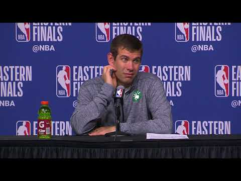 Brad Stevens Postgame Interview - Game 2 | Cavaliers vs Celtics | 2018 NBA East Finals