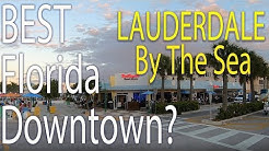 Best Florida Downtown? Lauderdale by the Sea in 4K. Mainstreet Florida Top 25 candidate!