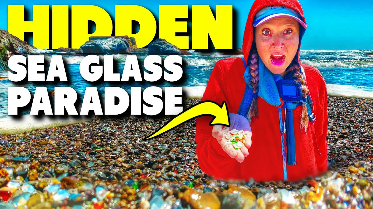Full Time RV Living Family Life With Kids! - Amazing Sea Glass Beach! California, Fort Bragg