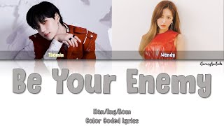 Download TAEMIN (태민) – Be Your Enemy (feat. WENDY of Red Velvet) (Color Coded Han/Rom/Eng)
