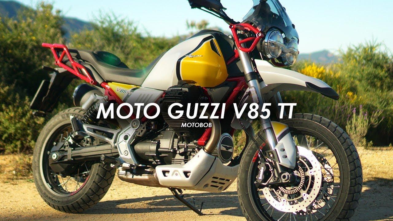 new 2019 moto guzzi v85tt first ride review youtube. Black Bedroom Furniture Sets. Home Design Ideas