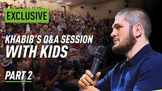 'We don't listen to idiots': Khabib talks McGregor, fighting Ferguson, and football