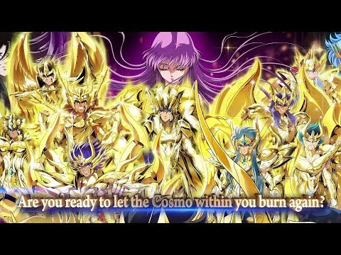 iOS/Android 「SAINT SEIYA COSMO FANTASY」 Official Trailer: Play Now!