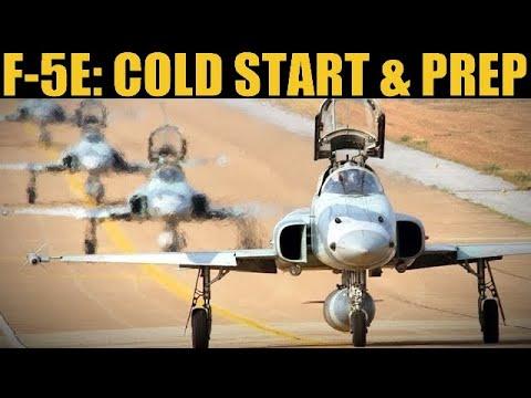 F-5E Tiger II: Learning Cold Start, RWR, Basic Radar & General Flight Prep | DCS 2.5