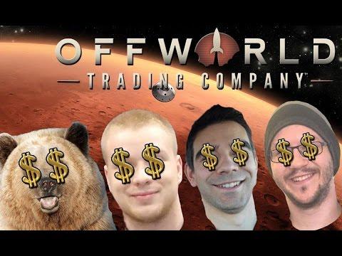 Adi, Niedźwiedź i Sou vs Kolega Ignacy - Offworld Trading Company