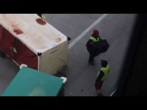 How they treat your luggage at Boston Logan Airport