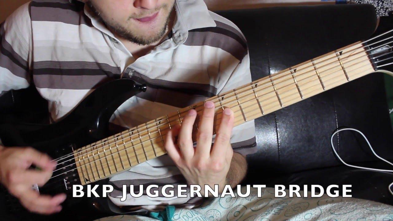bare knuckle juggernaut demo bridge youtube rh youtube com Jackson JS32 Jackson JS22 7 Dinky DKA 7 String