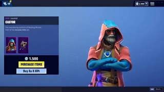 CASTOR skin is back (Item Shop) - Fortnite Battle Royale