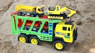 รถเทรลเลอร์บรรทุก รถแม็คโคร รถตักดิน รถดั้ม รถโม่ปูน Excavator | Wheel loader | truck