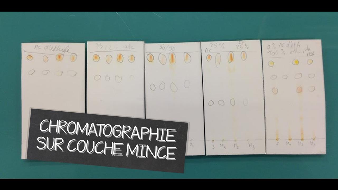 Chromatographie sur couche mince ccm youtube - Chromatographie sur couche mince ...
