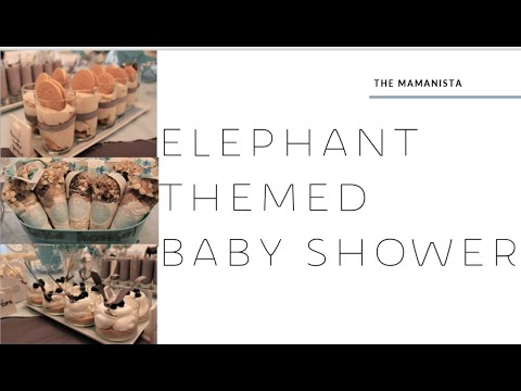 Baby Shower Dessert Table Youtube