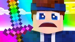Minecraft Momente die mein Regenbogen Schwert leuchten lassen