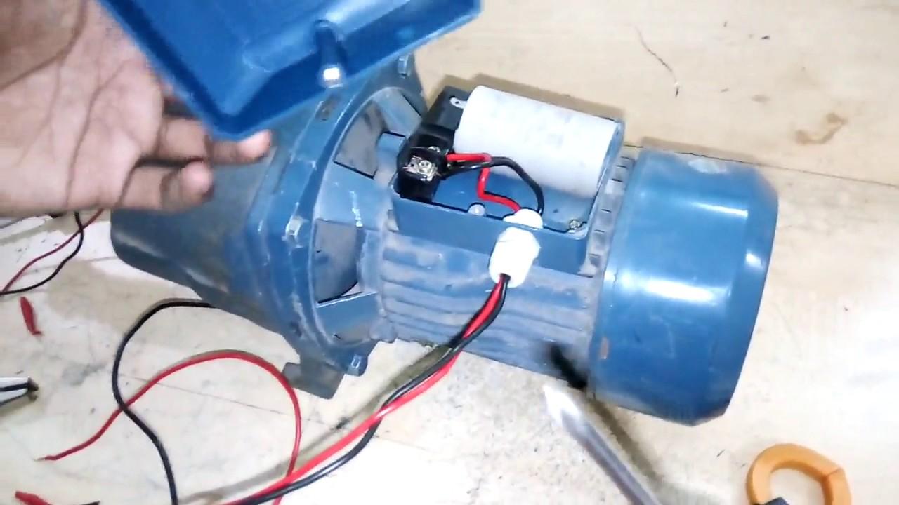 how to connect pump motor. সিঙ্গেল ফেজ পাম্প মোটর ...