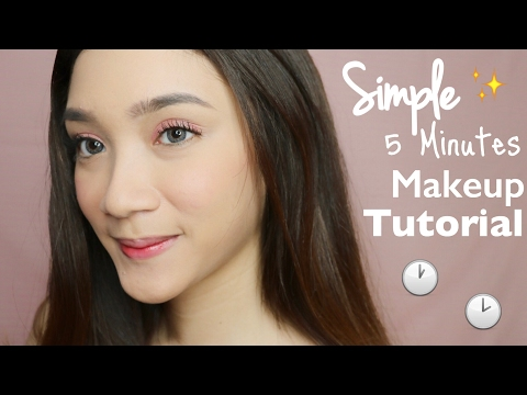 Simple 5 Minutes Date Makeup Tutorial