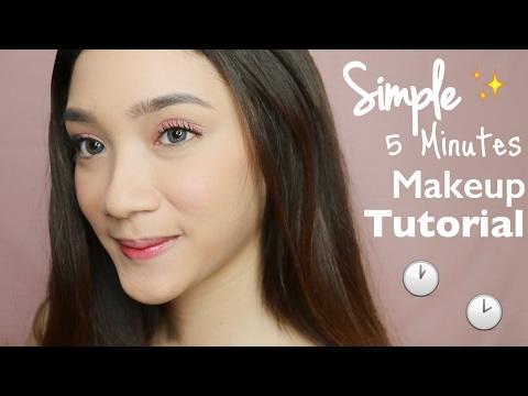 Simple 5 Minutes Date Makeup Tutorial