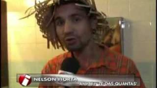 TV INTERATIVA  mostra ZE DAS QUANTAS contando piadas e Causo do Lambizame aos bondespachenses